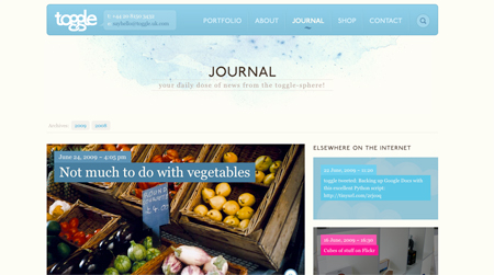 toggle journal